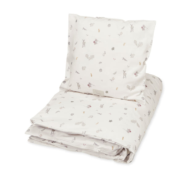 Baby Bedding Danish size - GOTS Fawn
