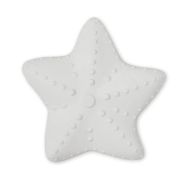 Starfish Teether, Classic Grey