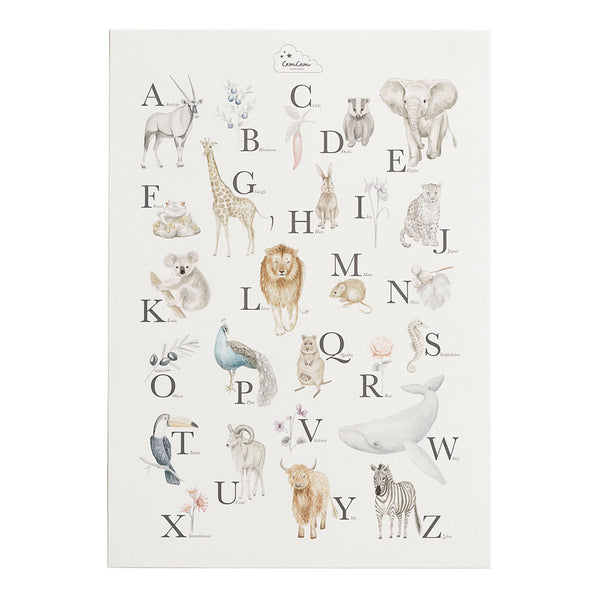 Alphabet Poster - German Version