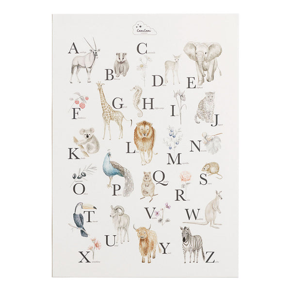 Alphabet Poster - French Version