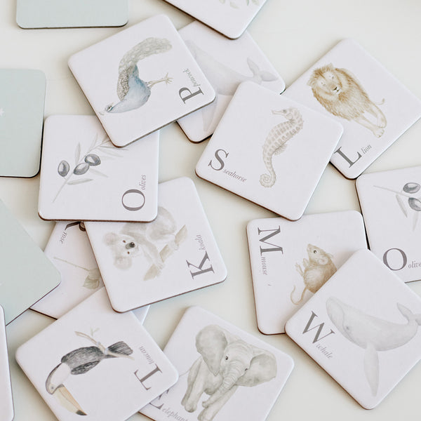 Memory Cards, FSC Mix - Alphabet Animals
