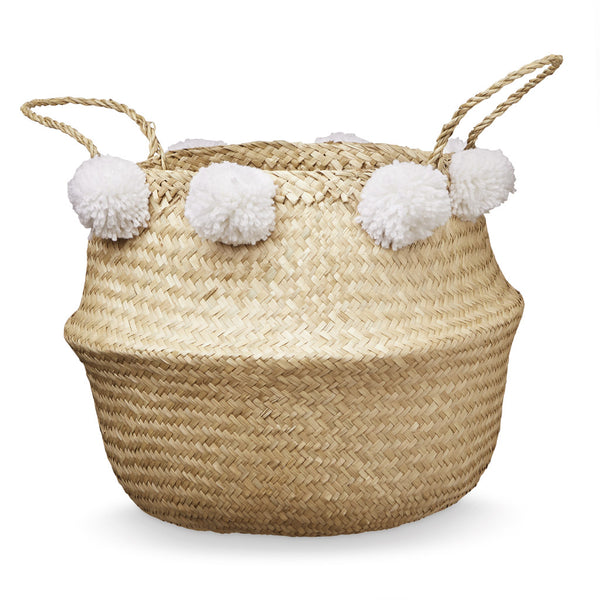 Belly Basket - White