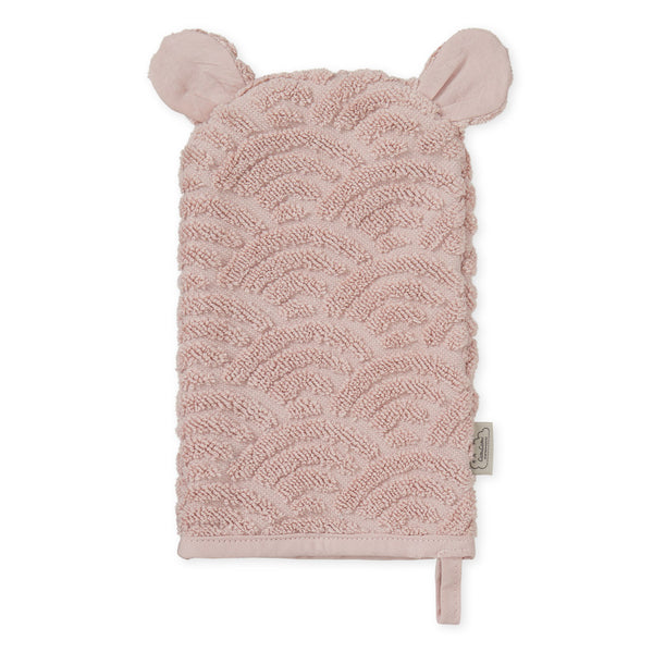 Wash Glove - GOTS Dusty Rose
