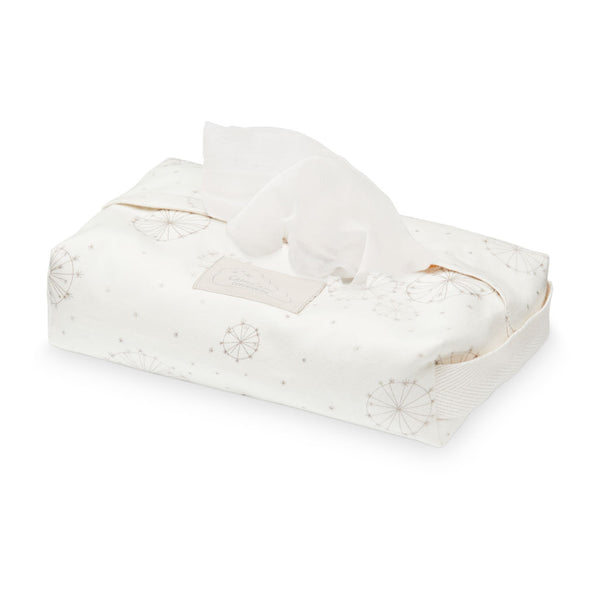 Wet Wipe Cover - GOTS Dandelion Natural