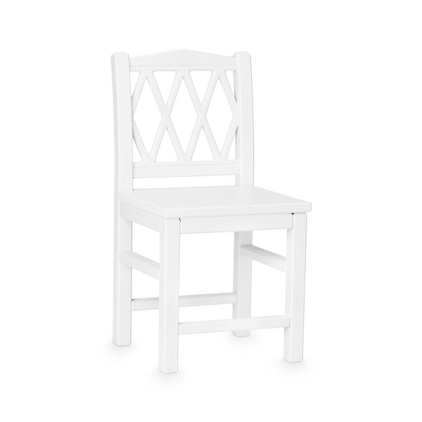 Harlequin Kids Chair - White