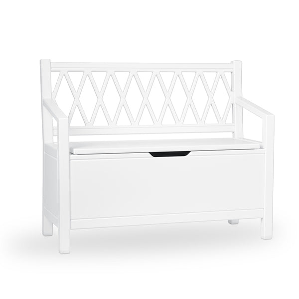 Harlequin Kids Storage Bench - White