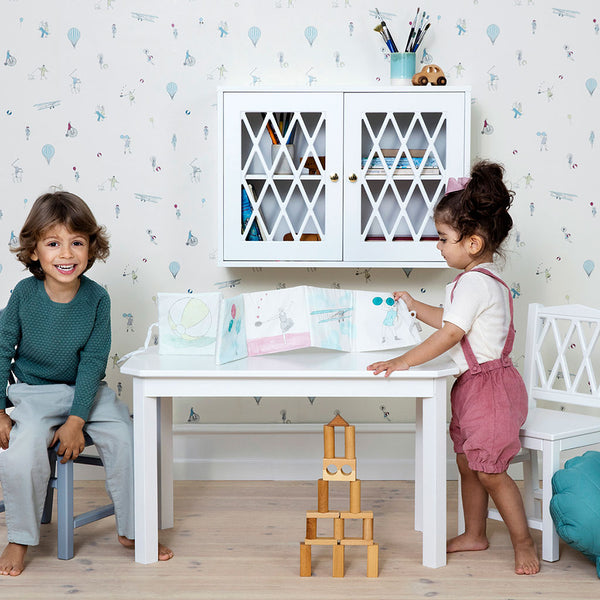 Harlequin Kids Table - White