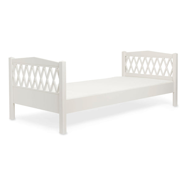 Harlequin Single Bed, 90x200cm - Light Sand