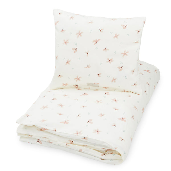 Bedding, Junior, German 100x135cm - GOTS Windflower Creme