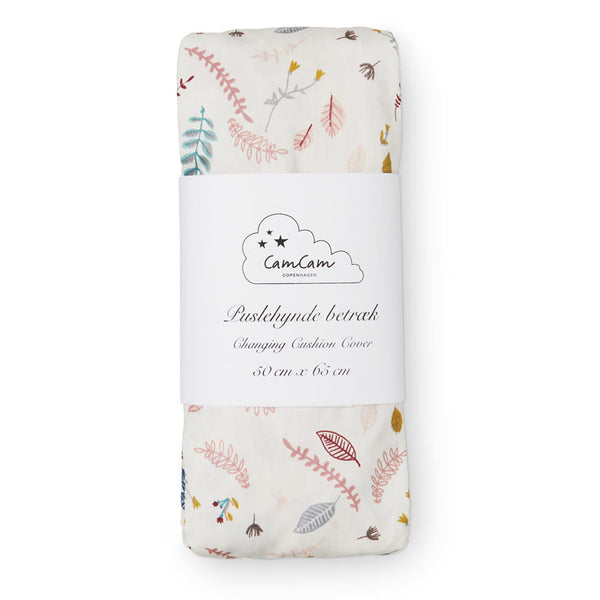 Changing pad cover - OCS Pressed Leaves Rose