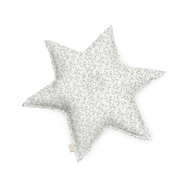 Cushion, Star - OCS Green Leaves