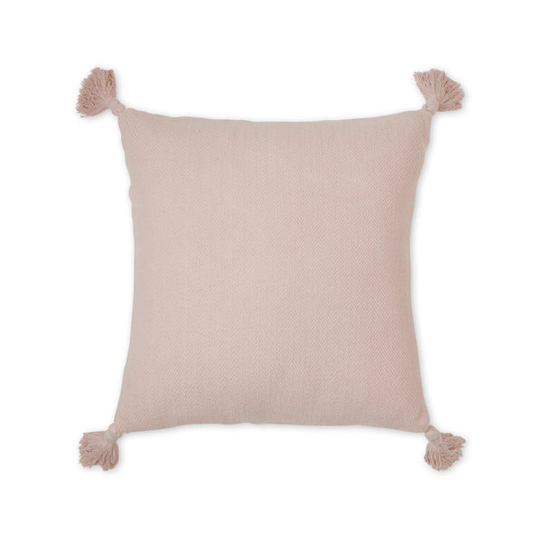 Cushion, Herringbone - OCS Dusty Rose
