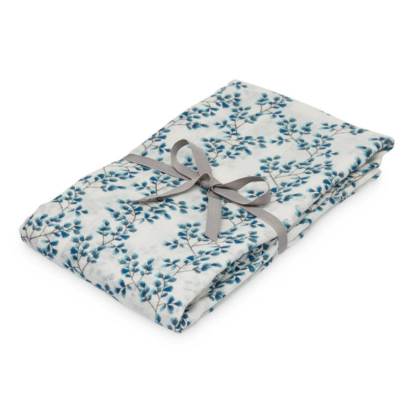Printed Swaddle, Light - GOTS - Fiori