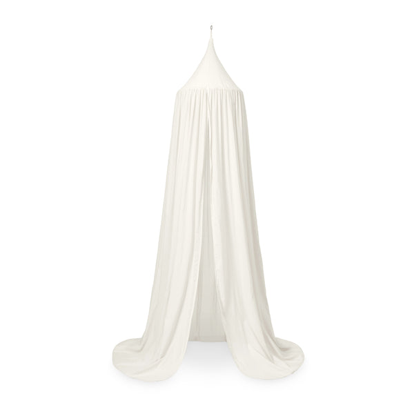 Bed Canopy - GOTS Creme White