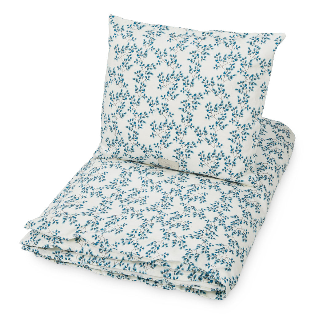 Single Bedding Danish size - GOTS - Fiori