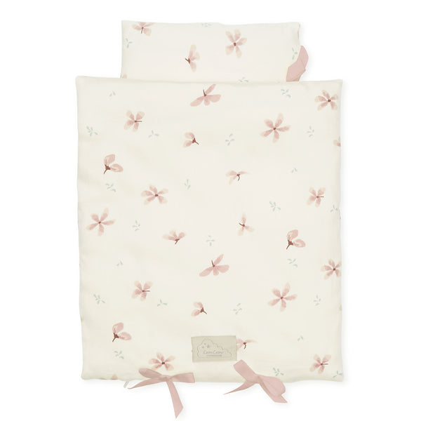 Doll's Bedding - GOTS Windflower Creme
