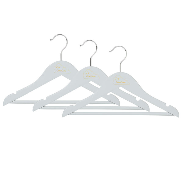 Children's Hangers, 3 pack - Classic Grey