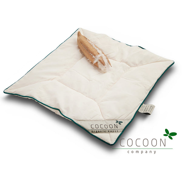 Kapok Baby Pillow Flat - 40x45cm - Natural