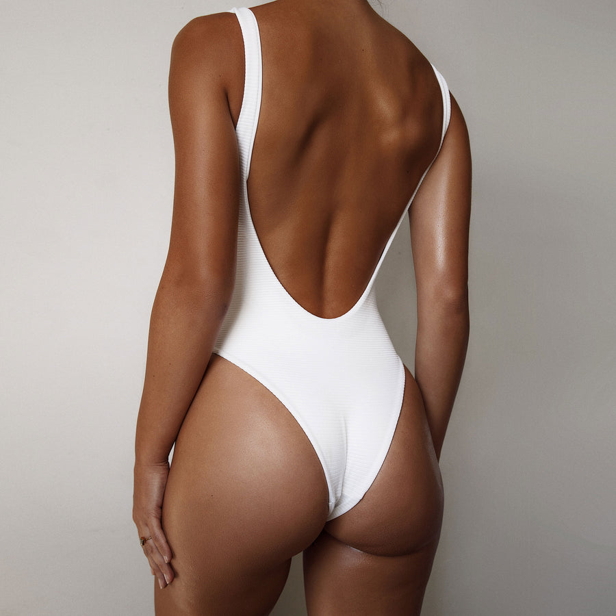 THE ALVA ONE PIECE - BLANCO