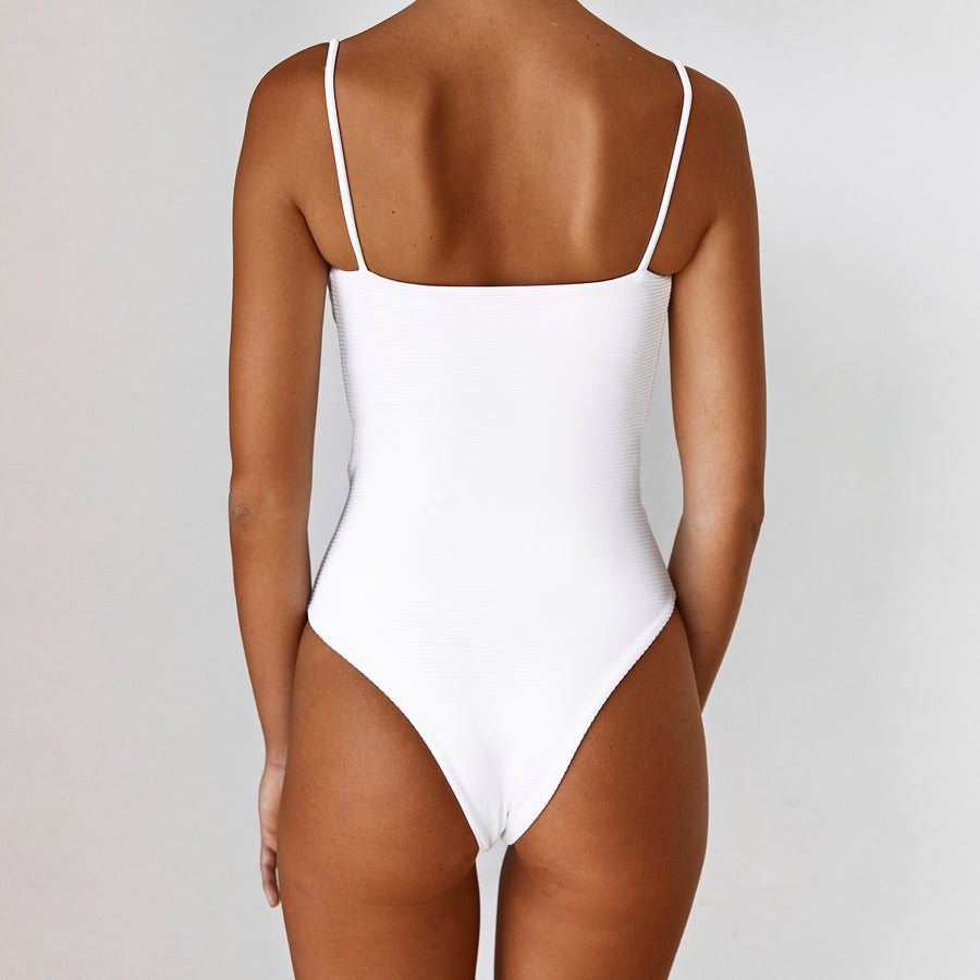 LOLA REVERSIBLE ONE PIECE - BLANCO