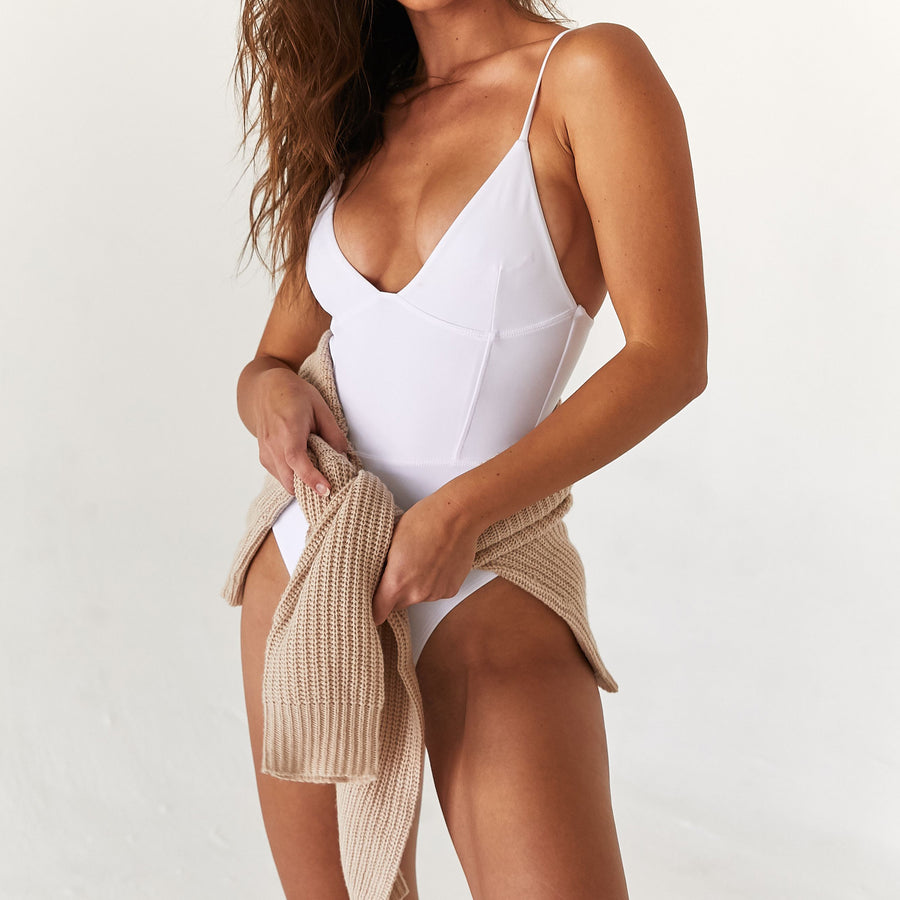 SADIE ONE PIECE - BLANCO