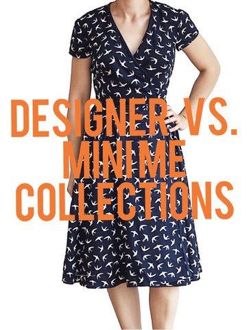 Designer vs Mini me collection  outfits?