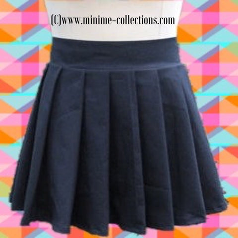Introducing cotton pleated uniform skirts