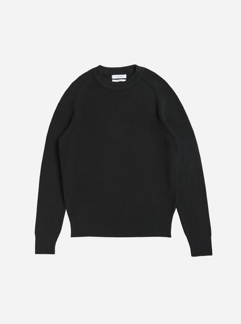 The Crewneck Sweater - Black