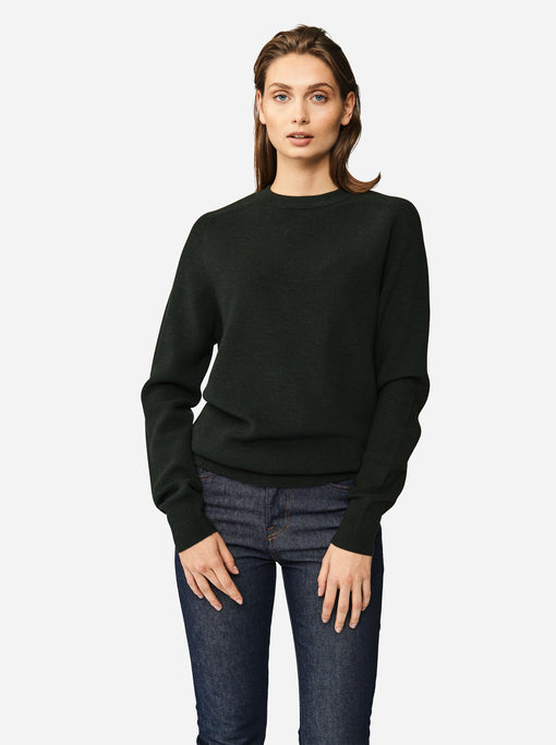 The Crewneck Sweater - Green