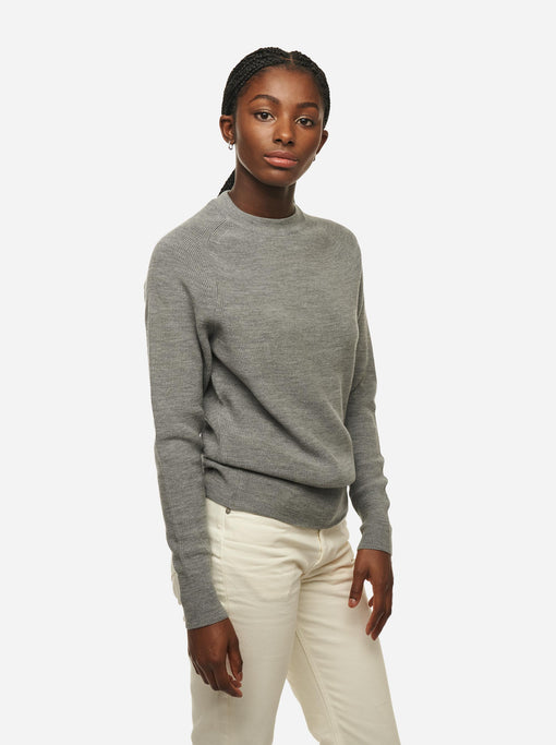 The Crewneck Sweater - Grey