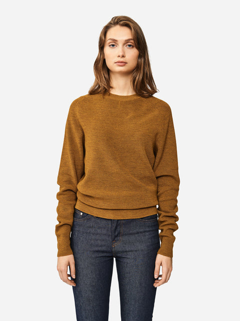 The Crewneck Sweater - Mustard