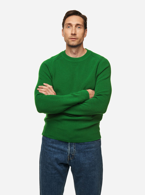 The Crewneck Sweater - Bright green
