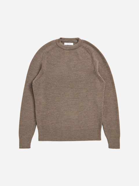 The Crewneck Sweater - Warm grey