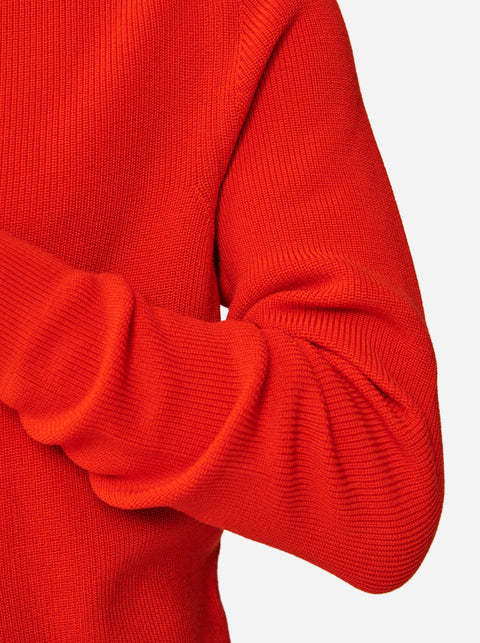 The Crewneck Sweater - Red