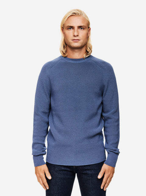 The Crewneck Sweater - Sky blue