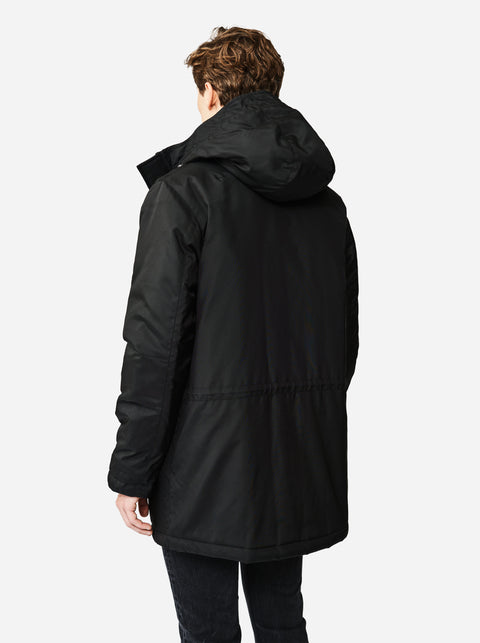 The Matte Parka - Black