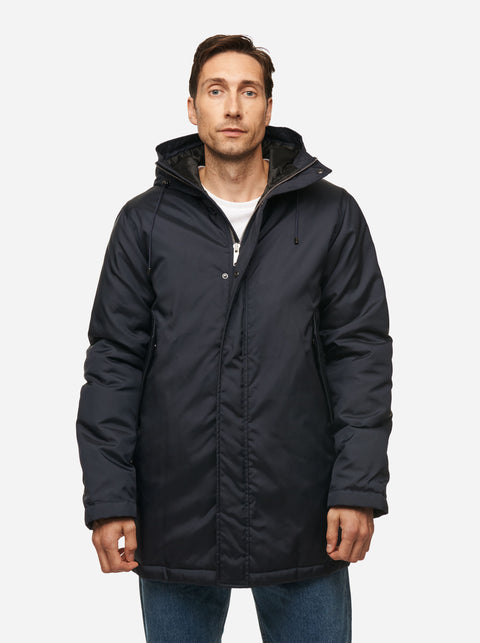 The Matte Parka - Blue