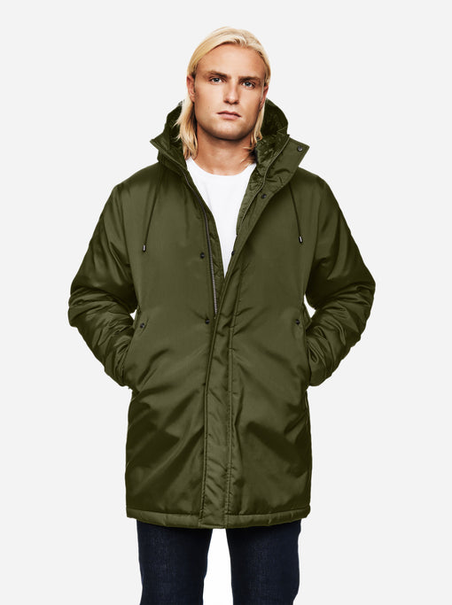 The Matte Parka - Army