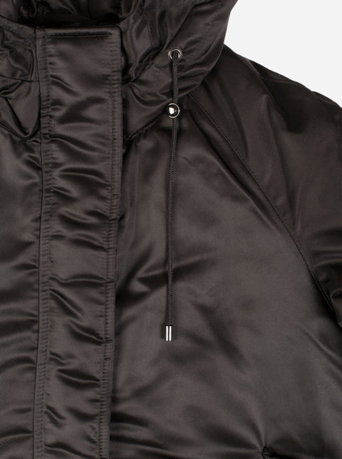 The Short Parka - Black