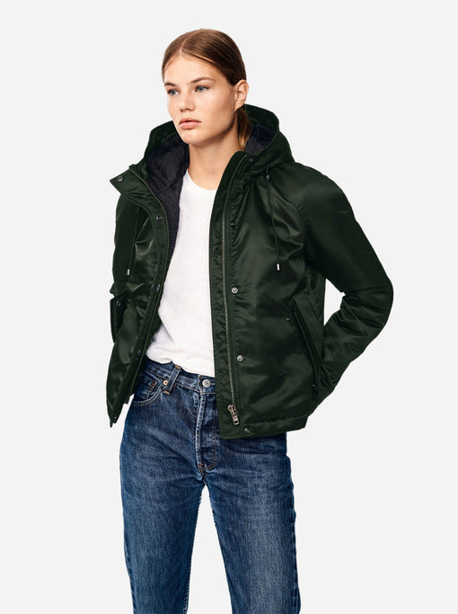 The Short Parka - Green