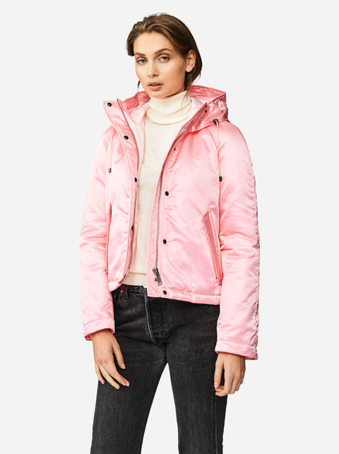 The Short Parka - Pink