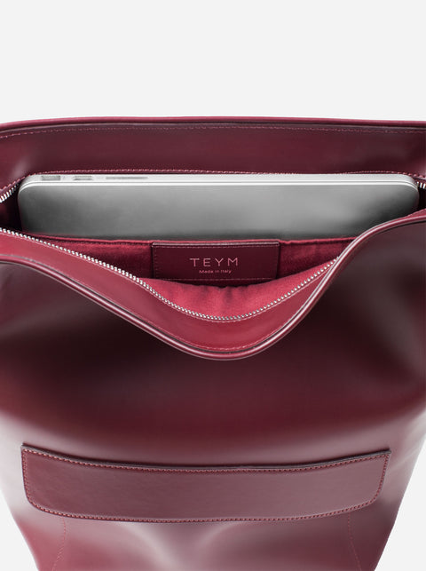 The Shoulder Bag - Oxblood