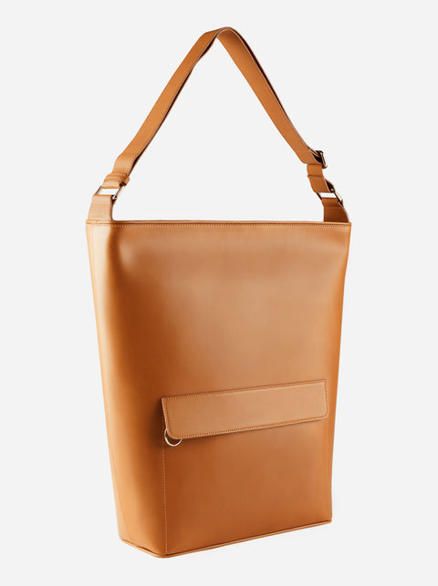 The Shoulder Bag - Camel