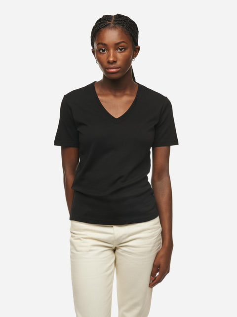 The V-Neck T-Shirt - Black