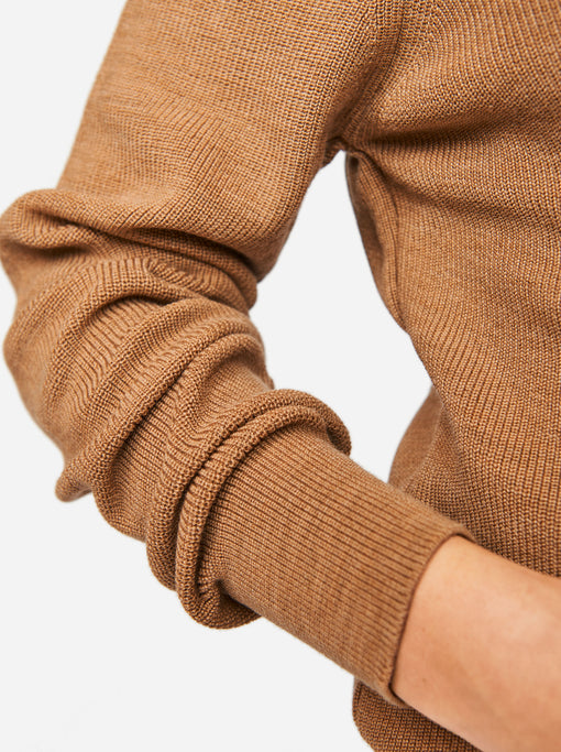 The Turtleneck Sweater - Camel