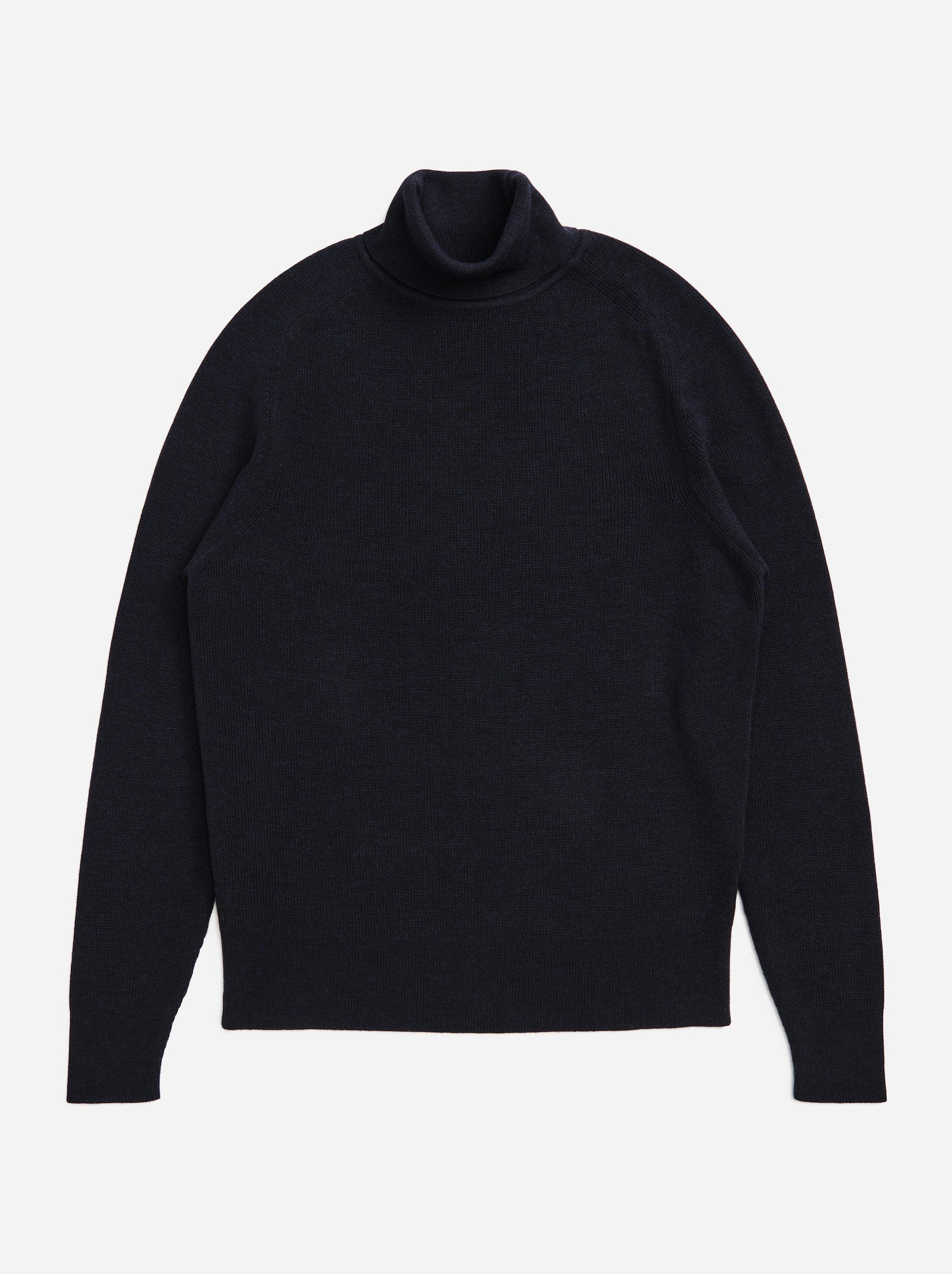 The Turtleneck Sweater - Blue