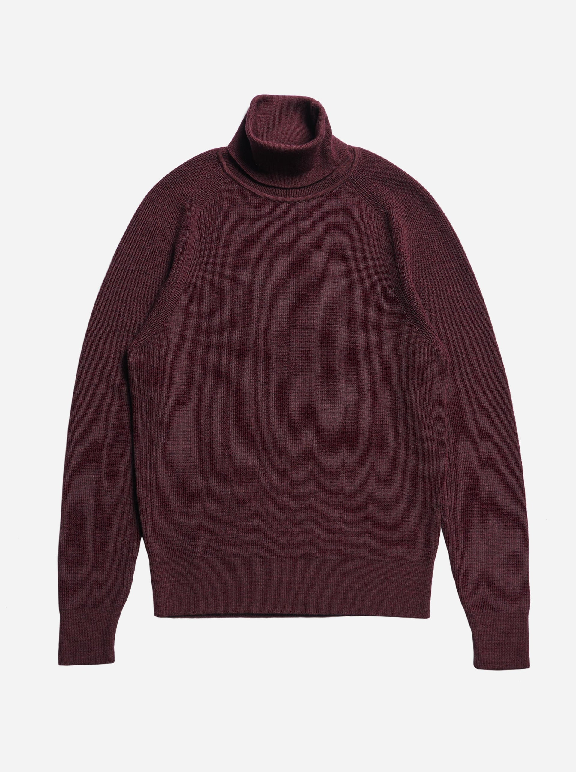The Turtleneck Sweater - Burgundy