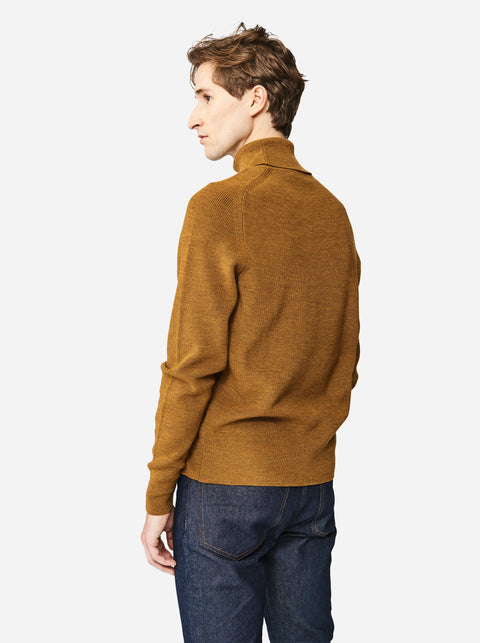 The Turtleneck Sweater - Mustard