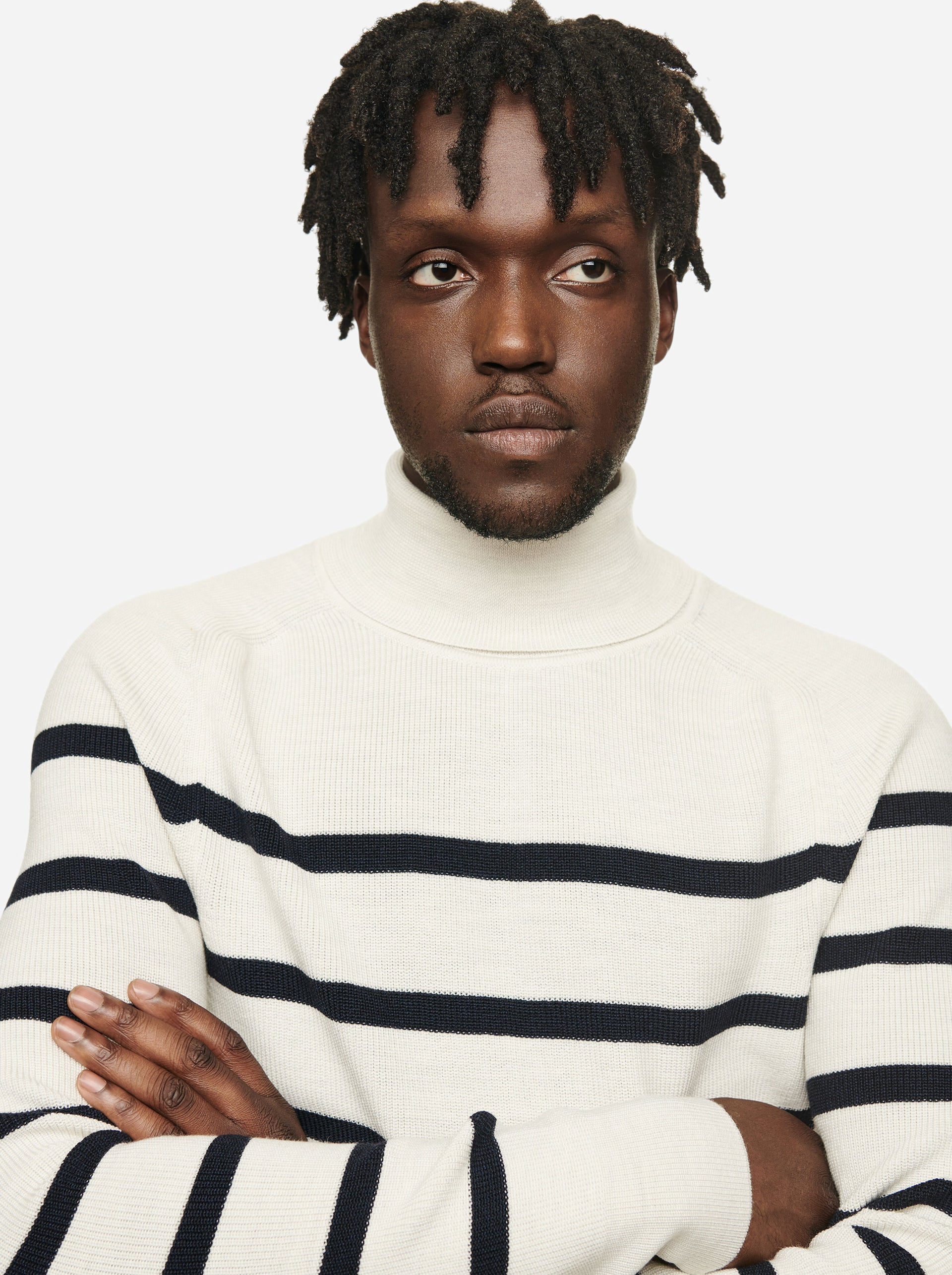 The Turtleneck Sweater - Striped