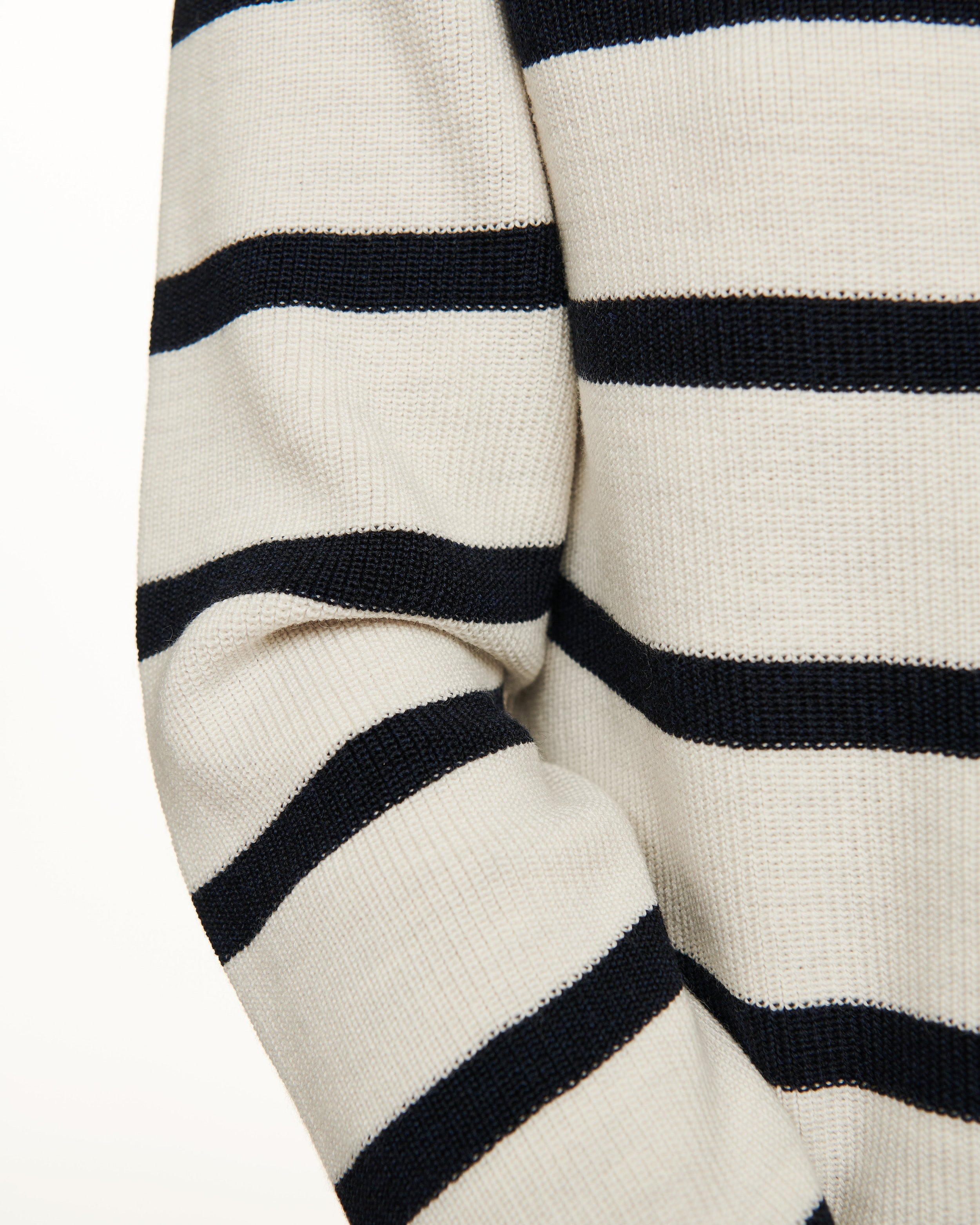 The V-Neck Sweater - Striped